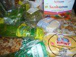Groceries from the Supermercado Pueblo