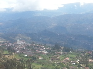 A view from the hills, looking at San Bartelomeo