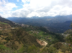 Looking into San Bartelomeo from the hills