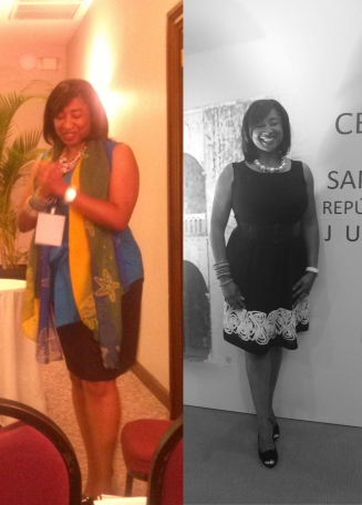 Dominican Republic - 1) (partial) Bilingual Presentation on Career-Life Balance and women in STEM, 2) Conference Gala