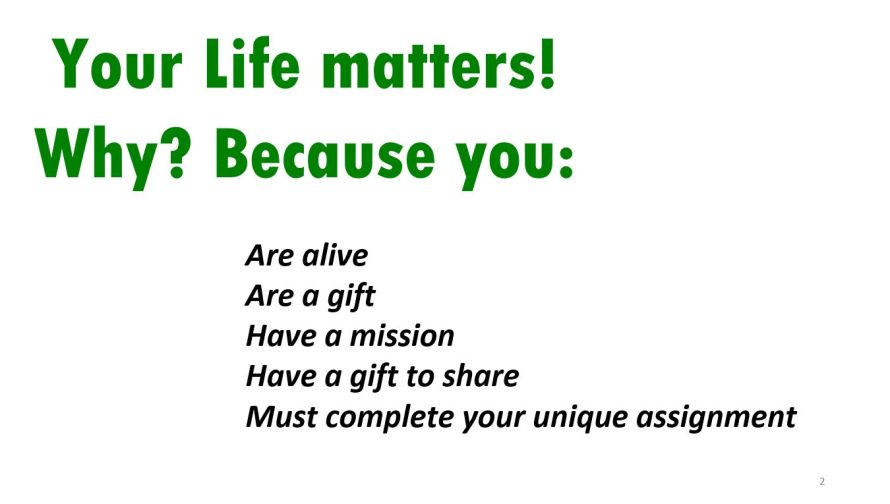You matter 2