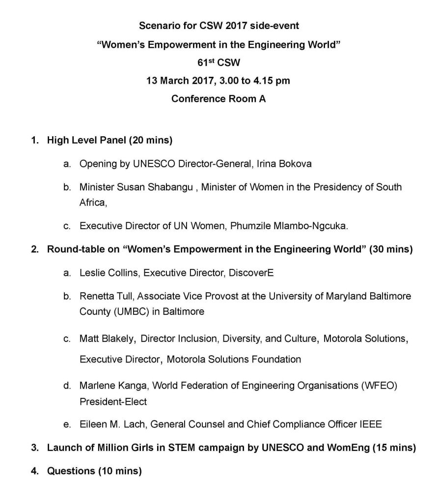 Scenario for CSW side event engineering AGENDA cropped
