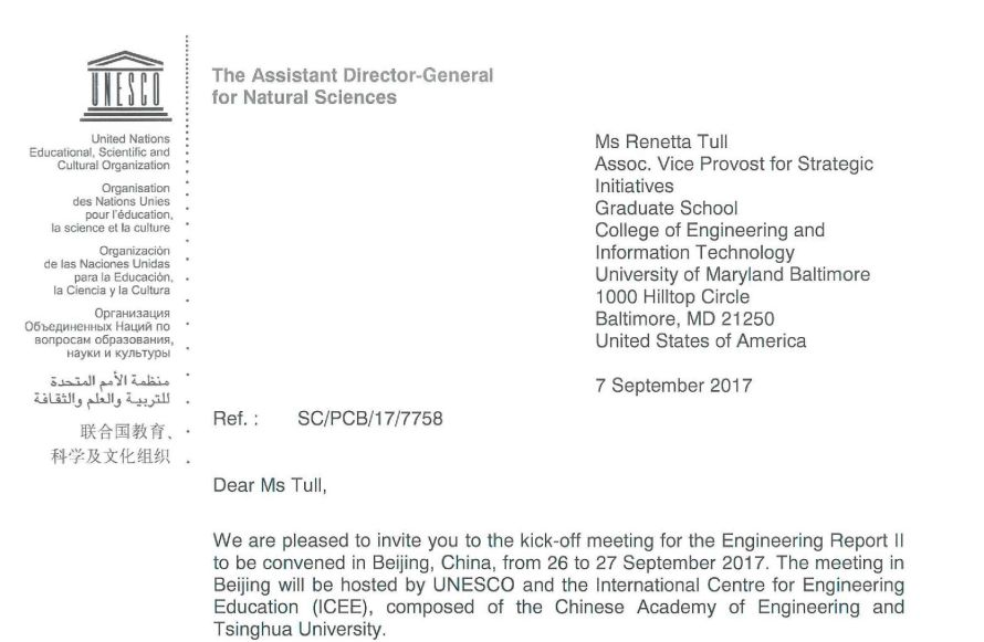 Invitation Letter-Ms Tull - UNESCO1 - For posting