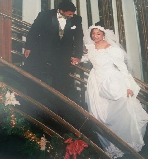 Renetta Damon wedding